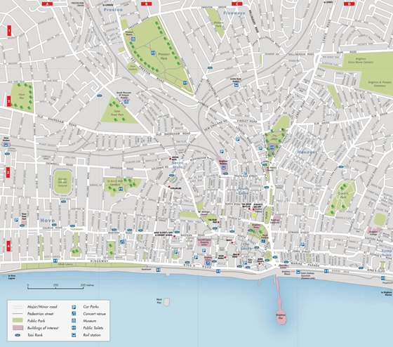 Large map of Brighton 3