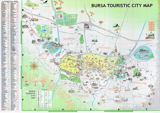 Large map of Bursa 1