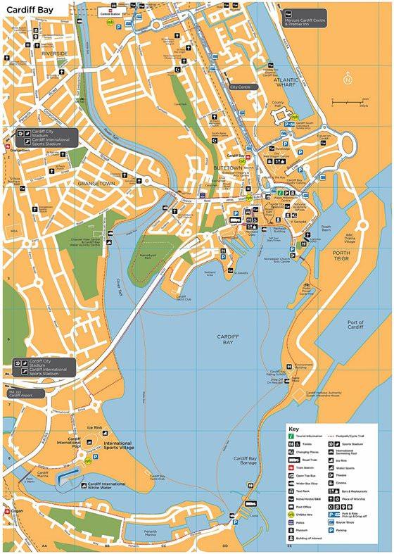 Карта Кардиффа 2