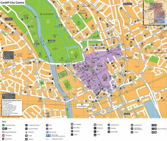 Карта Кардиффа 3