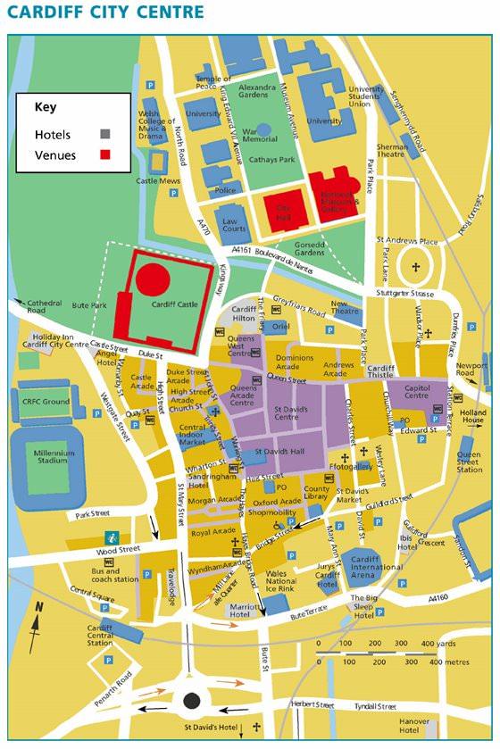 Карта Кардиффа 4