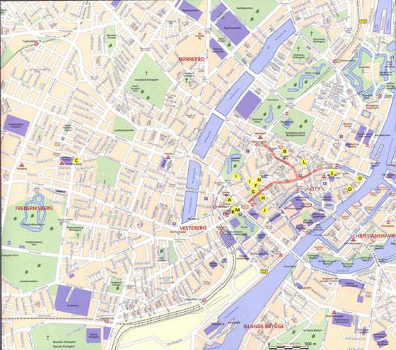 Copenhagen map 2