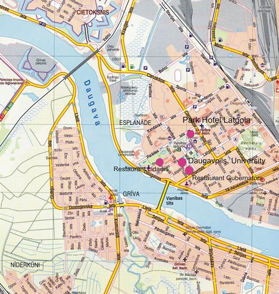 Daugavpils map 2