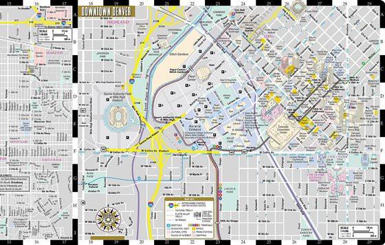 Карта Денвера 3