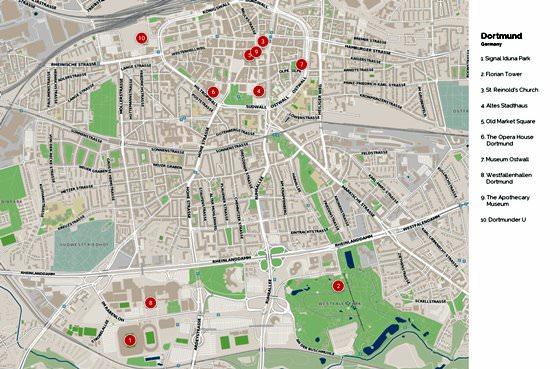 Mapa de Dortmund  3