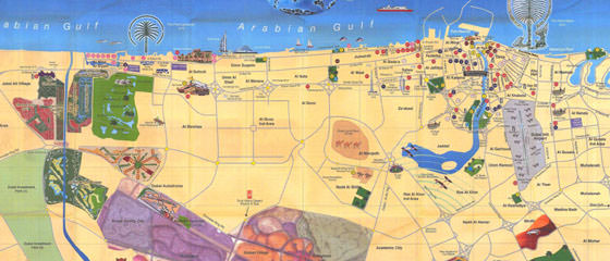 Dubai map 3
