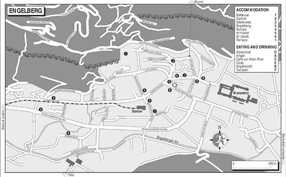 Große Karte von Engelberg 1