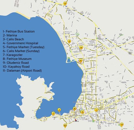 Fethiye map 1