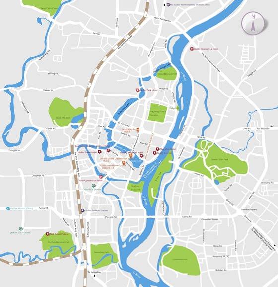 Карта Гуйлиня 1