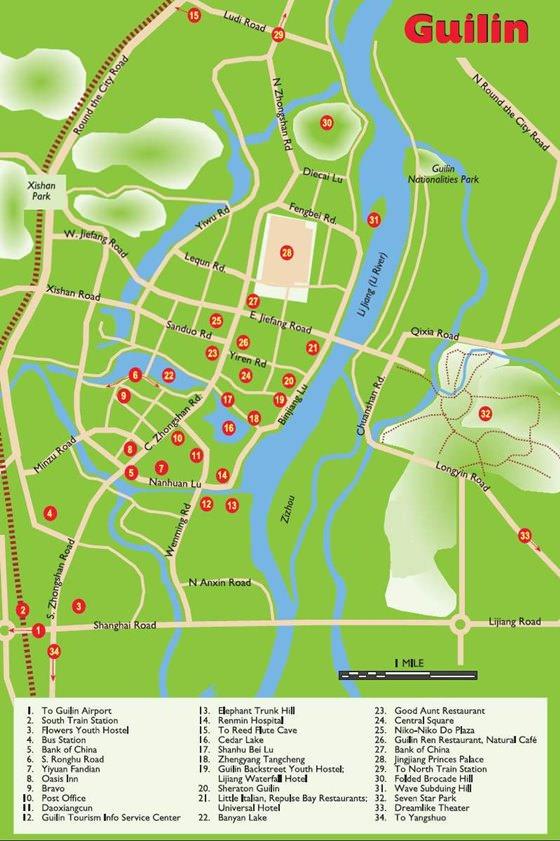 Карта Гуйлиня 2