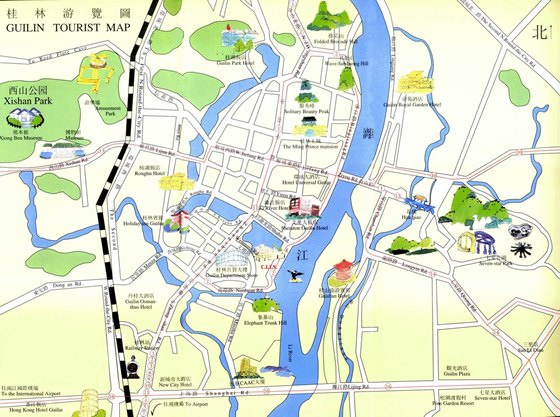 Карта Гуйлиня 3