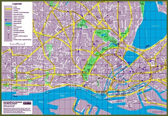 Mapa de Hamburgo  3