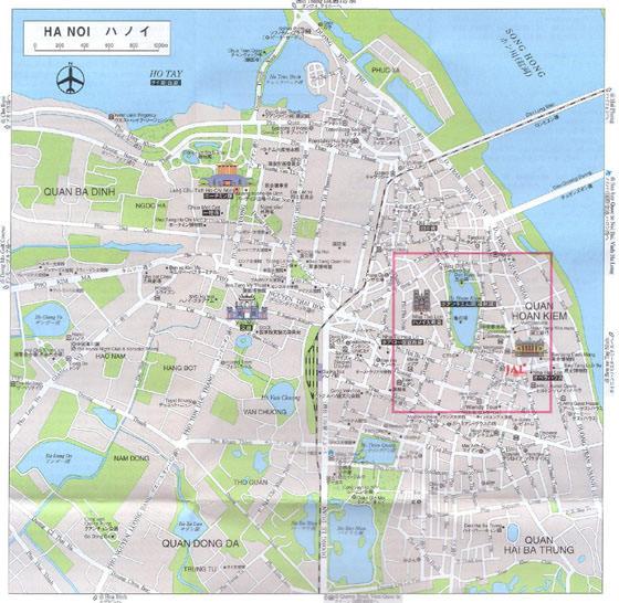 Hanoi map 1