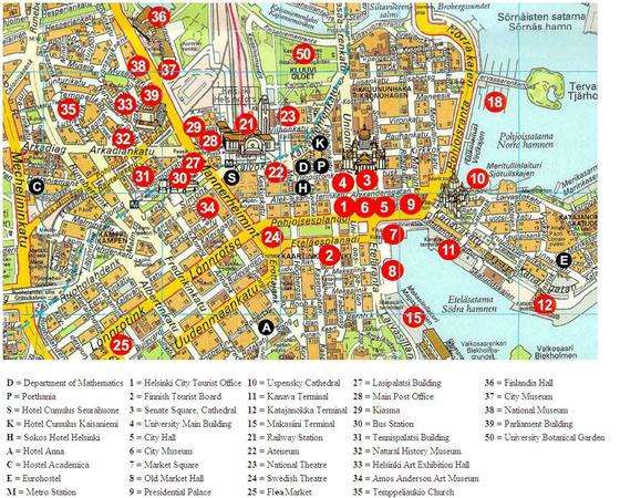 Helsinki Subway Map for Download Metro in Helsinki High