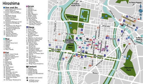 Hiroshima map 2