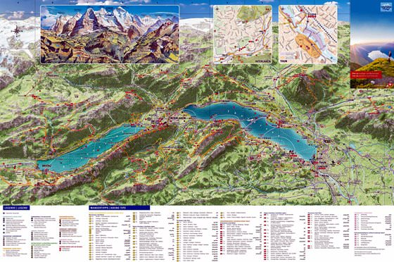 Large map of Interlaken 1