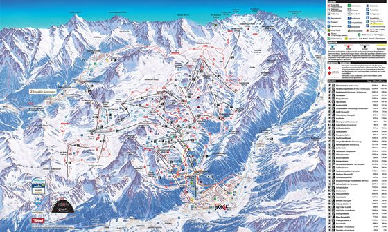 Детальная карта Ишгля 1