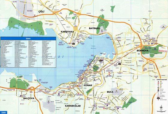 Izmir map 1