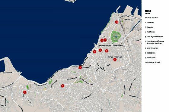 Izmir map 3
