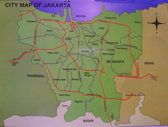 Jakarta map 1