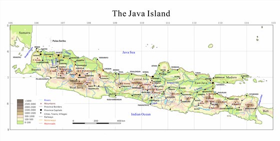 Large map of Java 1
