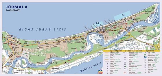 Jurmala map 1