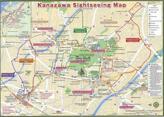 Карта Канадзавы 2