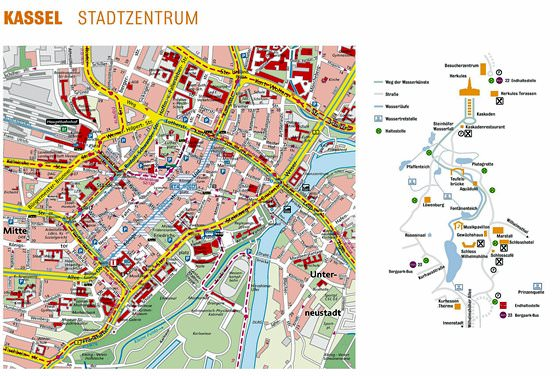 Large map of Kassel 1
