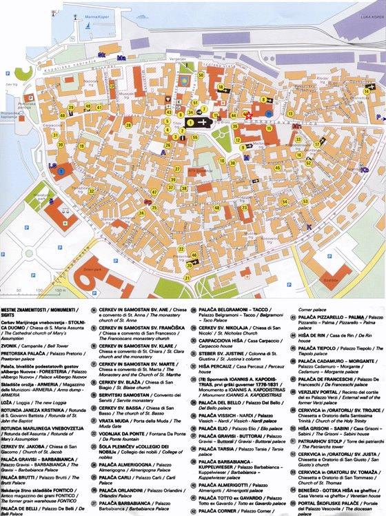 Large map of Koper 1