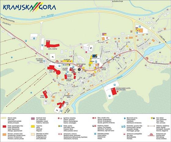 Large map of Kranjska Gora 1