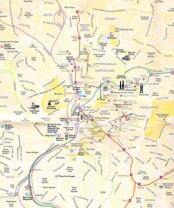 Kuala Lumpur Subway Map Pdf.Kuala Lumpur Subway Map For Download Metro In Kuala Lumpur High