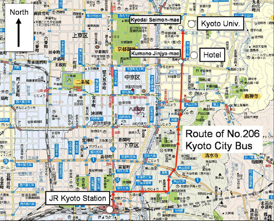 Subway Map Kyoto.Kyoto Subway Map For Download Metro In Kyoto High Resolution Map
