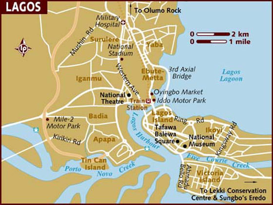 Large Lagos Maps for Free Download and Print HighResolution and