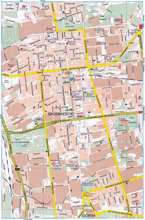 Large map of Lodz 1