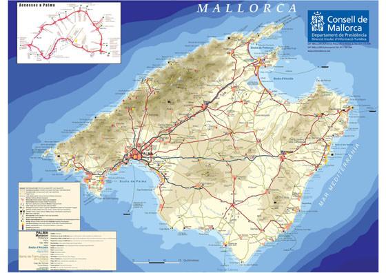 plan de Majorque