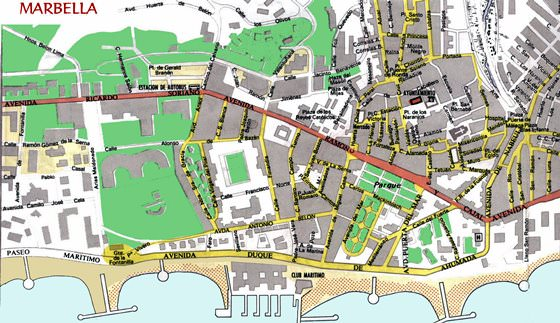 Marbella map 2