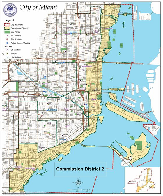 Miami Transit Map Miami Subway Map for Download   Metro in Miami   High Resolution