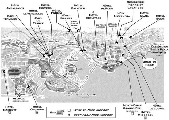 Mapa detallado de Montecarlo 2