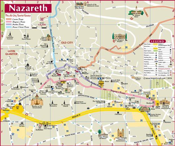Nazareth map 1