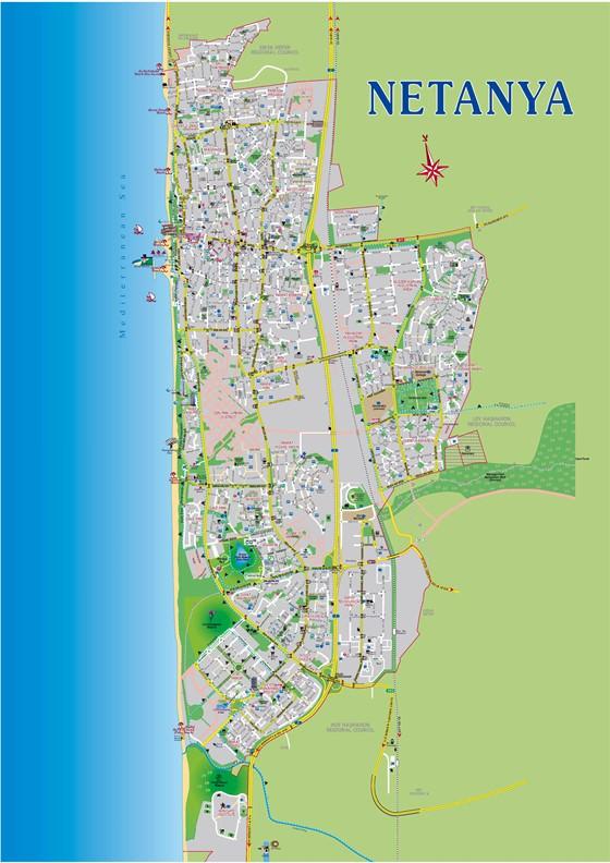 Netanya map 1