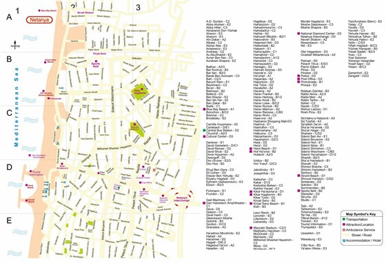 Netanya map 2