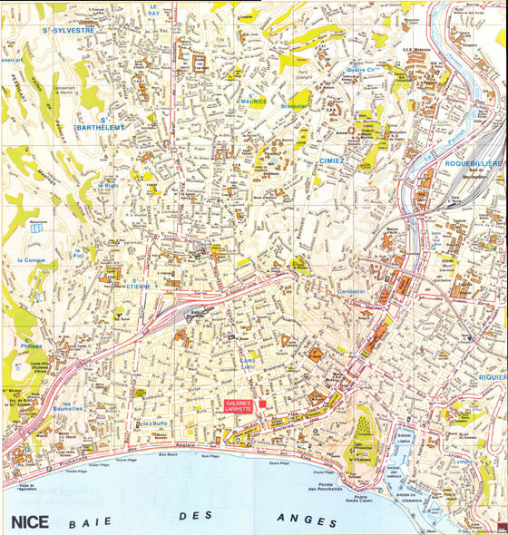 Mapa de Niza  1