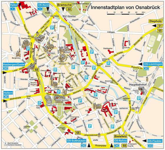plan de Osnabrück