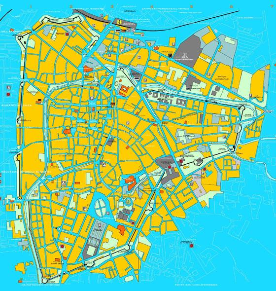Mapa detallado de Padua 2