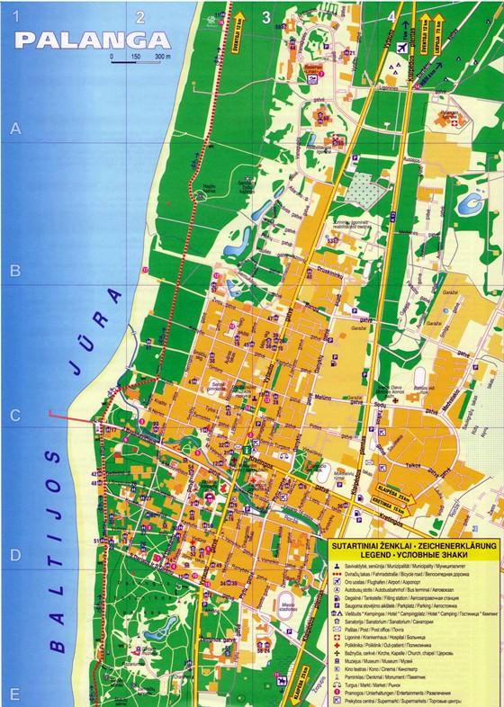 Palanga map 1