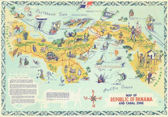 Карта Панама Сити 4