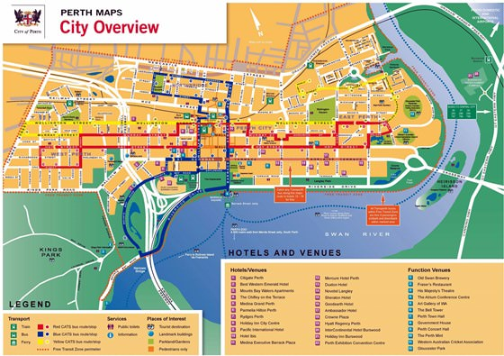 Large map of Perth 1