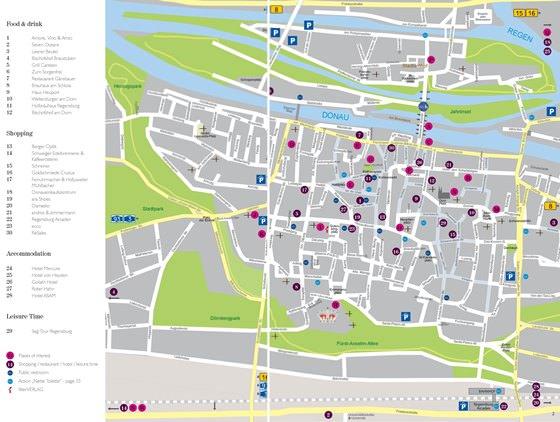 Regensburg map 1