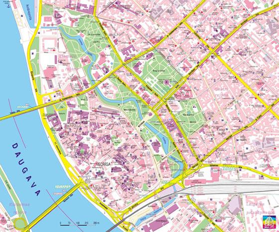 Riga map 1