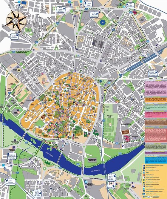 Salamanca map 1